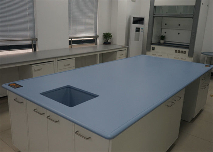 Laboratory Furniture Epoxy Undermount Sink 15mm Thickness For Hospital
